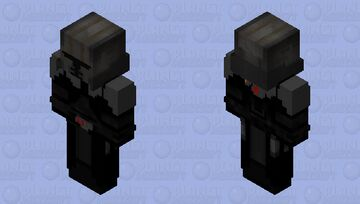 Lord Starkiller (The Force Unleashed - Ultimate Sith Edition) Minecraft Skin