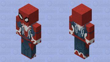 Spider-Man PS4 (Advanced Suit) Minecraft Skin