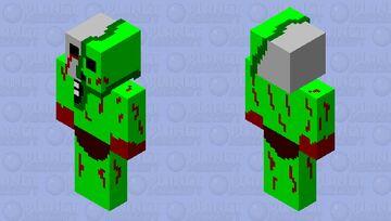 mutant creeper Minecraft Skin