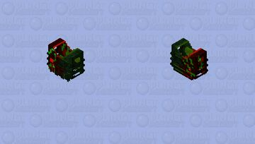 Rose And Plant Minecraft Skin