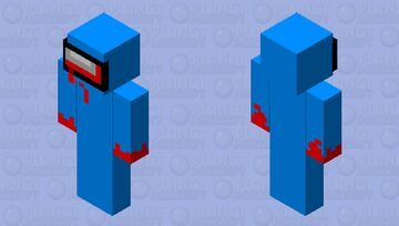 among us impostor Minecraft Skin