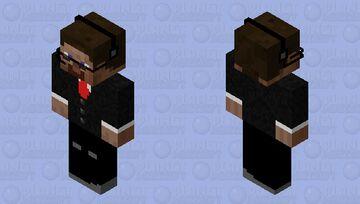агент стив Minecraft Skin