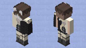 My fursona, Fyodor Minecraft Skin