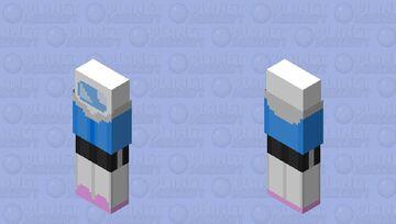 Sans Among Us Minecraft Skin