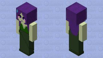 Swamp witch high def Minecraft Skin