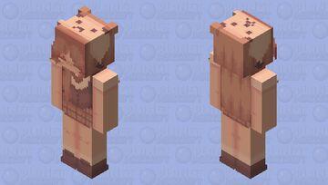 Lucy Bear Minecraft Skin