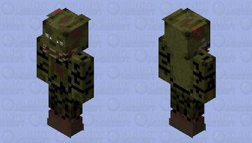 Spring trap Minecraft Skin