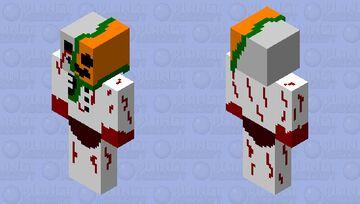 mutant snowman Minecraft Skin