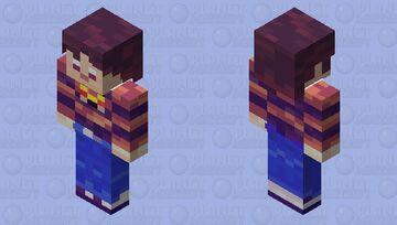 Liquid Chris [Coterie Craft Blue Heart Player Skin] Minecraft Skin