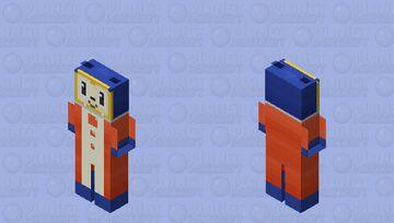 Teddie - Persona 4 Minecraft Skin