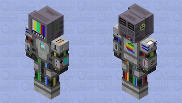 Robot 9000 (offline) Minecraft Skin