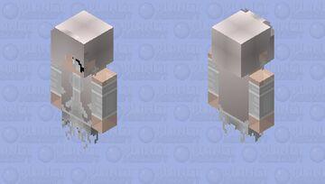 Ghost Rubby White Minecraft Skin