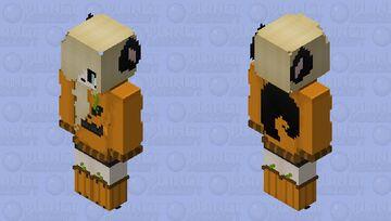 Wolfy ,Happy Halloween!! 🎃 Minecraft Skin