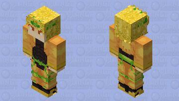 Dio Brando (Part 3) Minecraft Skin