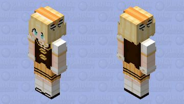 Syaro Kirima | Is the Order a Rabbit? Minecraft Skin