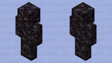 lava gollem Minecraft Skin