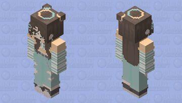 𝒪𝓇𝒶𝓃𝑔𝑒 𝒱𝒾𝒷𝑒𝓈 Minecraft Skin