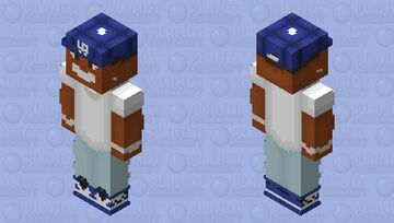 He will turn you into a convertible (DaBaby) Minecraft Skin