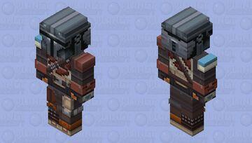 Mandalorian HD Skin Minecraft Skin