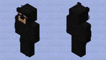 American black bear mob skin but it's a player skin Minecraft Skin