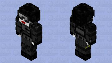 Jared Leto Joker Swat Outfit Minecraft Skin