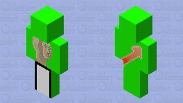 dream but its a meme Minecraft Skin