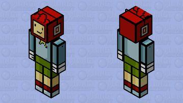Maxwell - Scribblenauts Minecraft Skin