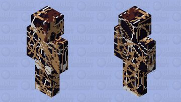 Venom 2.O Explosion damage Minecraft Skin