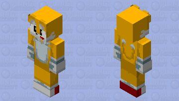 Tails remastered Minecraft Skin