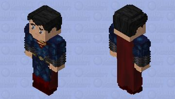 Superman: Man of Steel Minecraft Skin