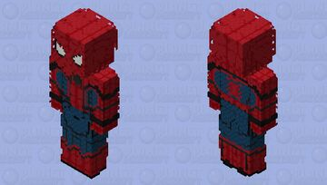 Spider-Man: Captain America: Civil War Minecraft Skin