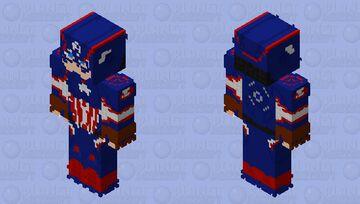 Modern Captain America Suit Minecraft Skin