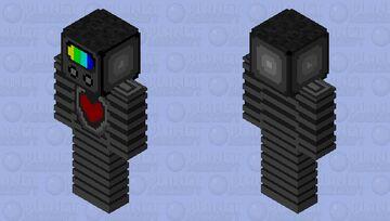 TV ^×^ Minecraft Skin