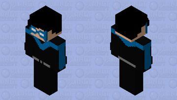 Asa Noturna V.3 Minecraft Skin