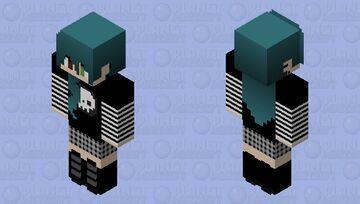 Haisley (genderbend Haris) Minecraft Skin