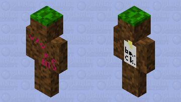 Dirt Minecraft Skin