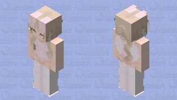 pink bunny Minecraft Skin