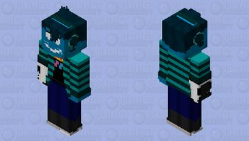 Griff the Squid Demon Minecraft Skin