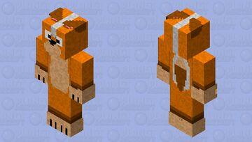 Fox Character Skin Minecraft Skin