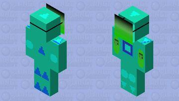 Masked Fighter Minecraft Skin