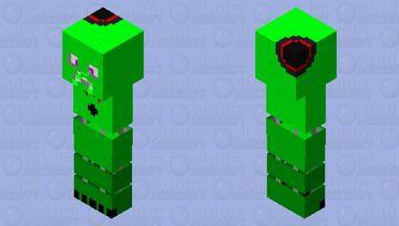stylized creeper Minecraft Skin