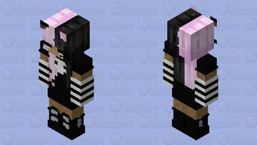 Mall Goth skin!! Minecraft Skin