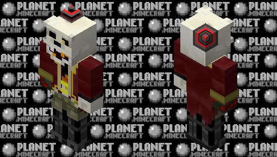 HD RingMaster Foxy Minecraft Skin