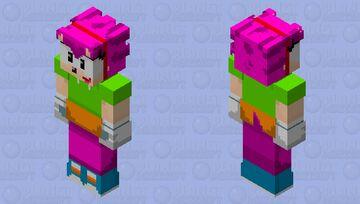 amy remastered Minecraft Skin