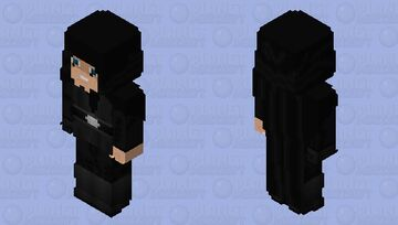 Luke Skywalker (Hood Up): The Mandalorian Season 2 Minecraft Skin