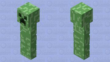 Creeper skin for Minecraft Bedrock Minecraft Skin