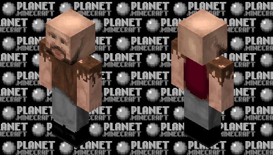 HD Cursed Notch Minecraft Skin