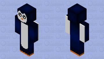 Shaded Penguin Minecraft Skin