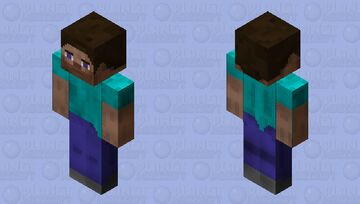 Real Steve [Remake by Me] Minecraft Skin
