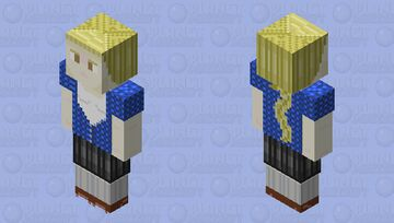 Frieda Radosława 128x128 OC Minecraft Skin